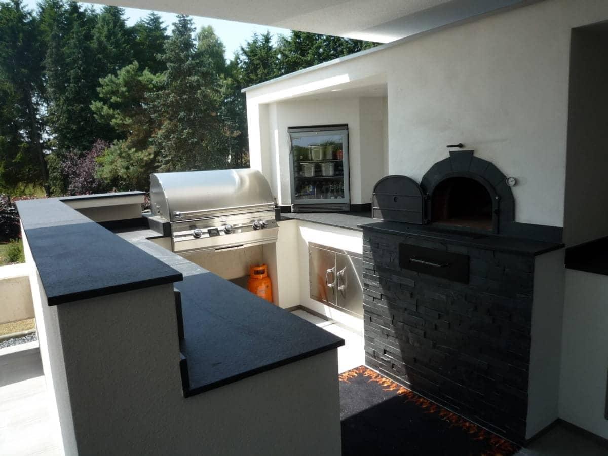 Dach Für Außenküche : Außenküche tischlein deck dich im garten bad ofen heizung