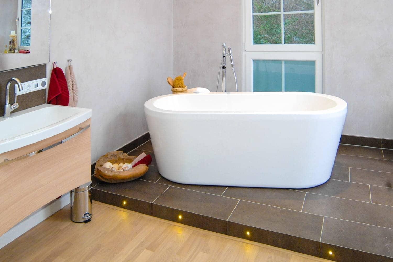 neues komplettbad barrierefrei in 9 tagen - bad.ofen.heizung., Badezimmer ideen